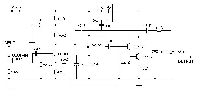 Компрессор на транзисторах